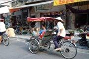 Cyclo-pousse-à-Hanoi